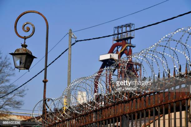 A general view of the ArcelorMittal steel works on February 14 2017 in HayangeFrance The people of the French Rust Belt are expected to play a key...