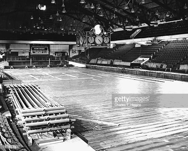 General view of the arena circa 1956 at the Philadelphia Civic Center in Philadelphia Pennsylvania NOTE TO USER User expressly acknowledges and...
