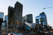 A general view of the Aria Resort Casino on March 24 2010 in Las Vegas Nevada
