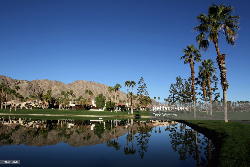 A general view of the Arnold Palmer Private Course at PGA West during the second round of the Humana Challenge in partnership with the Clinton...