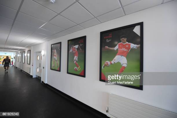 A general view of the Arsenal Academy before the Liam Brady Cup on March 31 2017 in Walthamstow England