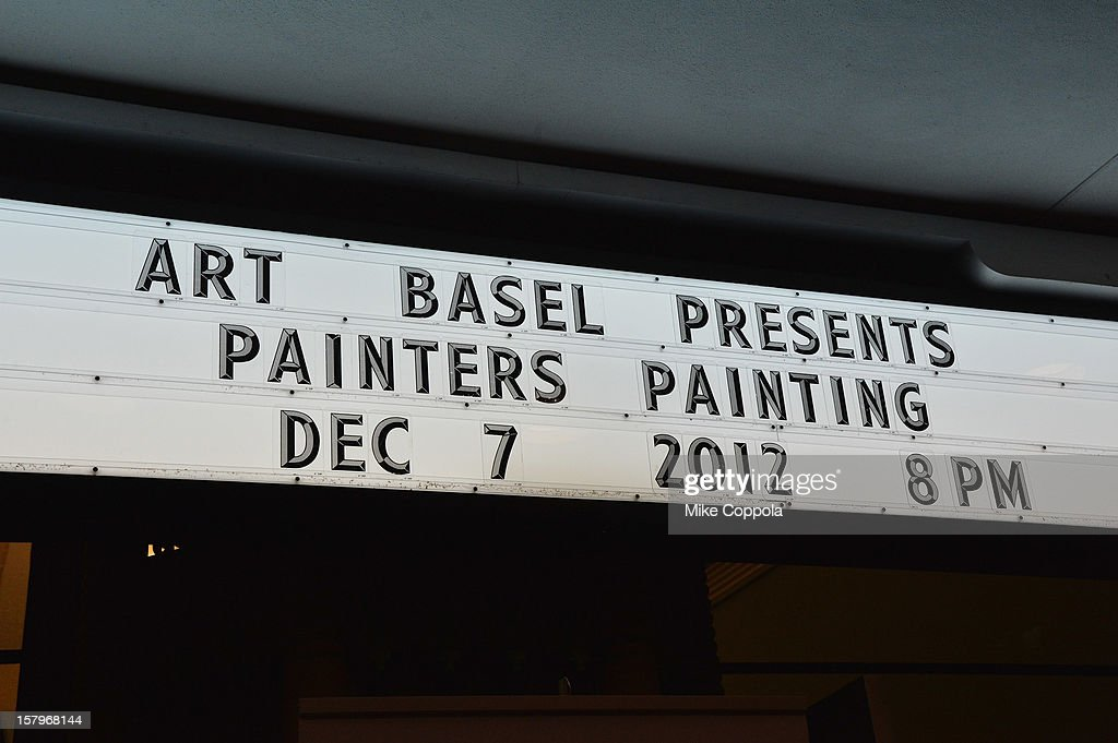 A general view of the Art Film screening at Art Basel Miami Beach 2012 at the Miami Beach Convention Center on December 7, 2012 in Miami Beach, Florida.