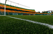 A general view of the artificial turf at Commonwealth Stadium on August 4 2014 in Edmonton Alberta Canada