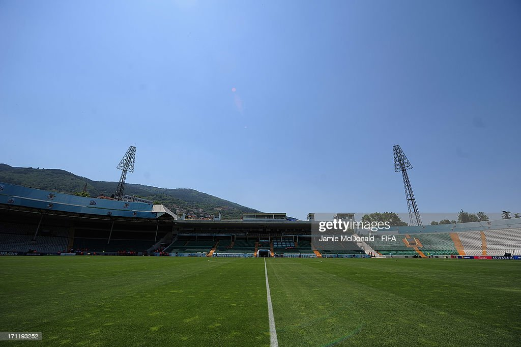 A general view of the Ataturk Stadium prior to the FIFA U-20 World Cup Group F match between New Zealand and Uzbekistan at the Ataturk Stadium on June 23, 2013 in Bursa, Turkey.