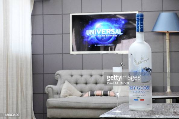 A general view of the atmosphere as Grand Classics Richard Curtis and Grey Goose celebrate 100 years of Universal Pictures' greatest films with a...