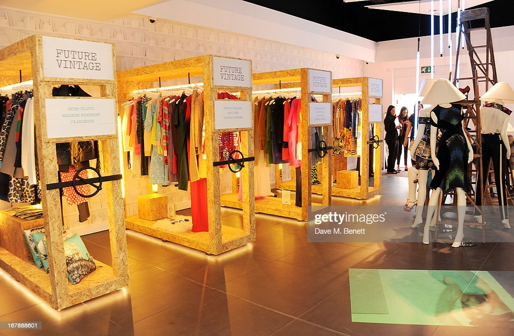 A general view of the atmosphere as Rita Ora launches the British Designers' Collection at Bicester Village on May 2, 2013 in Bicester, England.