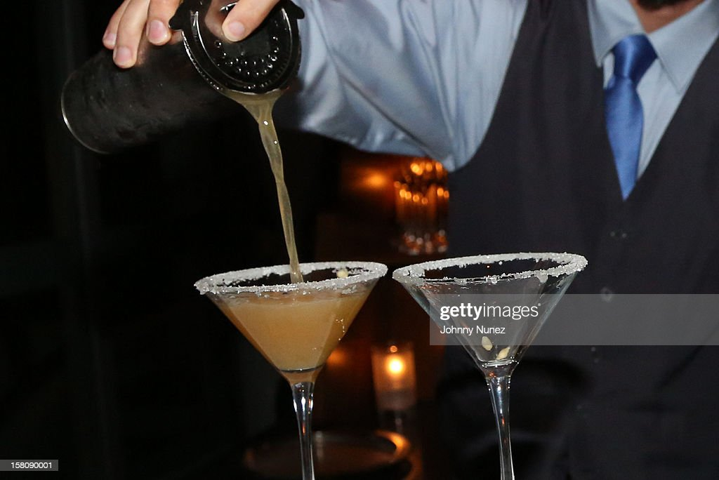 A general view of the atmosphere at a private dinner hosted by Jay Z at Scarpetta, Fontainbleau Hotel on December 9, 2012 in Miami Beach, Florida.