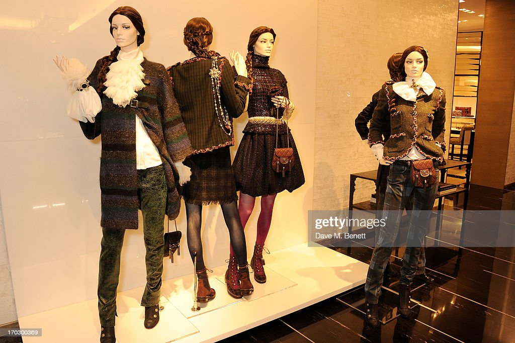 A general view of the atmosphere at a private view of the new CHANEL flagship boutique on New Bond Street on June 10, 2013 in London, England.