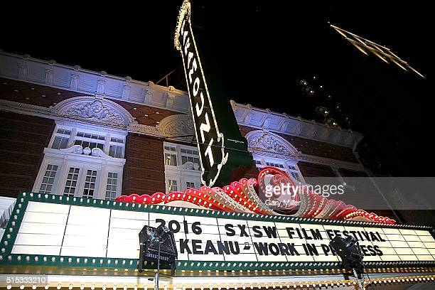 A general view of the atmosphere at a special screening of 'Keanu' at the Paramount Theater during the South by Southwest Film Festival on March 12...
