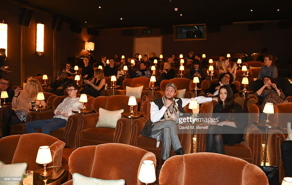 A general view of the atmosphere at a special screening of 'The Uncountable Laughter of The Sea' at Soho House Dean Street on February 6, 2016 in London, England.