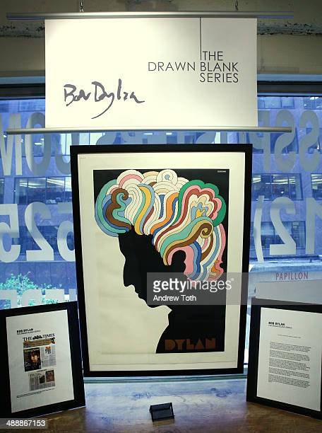 General view of the atmosphere at Bob Dylan's 'The Drawn Blank Series ' Art Exhibition opening recepiton at The Ross Art Group on May 8 2014 in New...