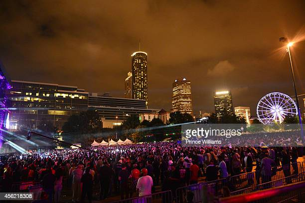 A general view of the atmosphere at Centennial Olympic Park on September 26 2014 in Atlanta Georgia
