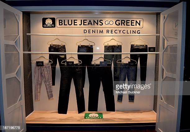 A general view of the atmosphere at Cotton Incorporated's Blue Jeans Go Green celebrates 1 million pieces of denim collected for recycling at SkyBar...