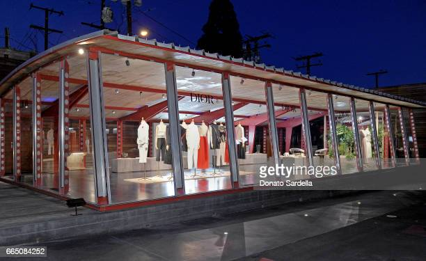 A general view of the atmosphere at DIOR SS17 Collection Launch at Maxfield on April 5 2017 in Los Angeles California