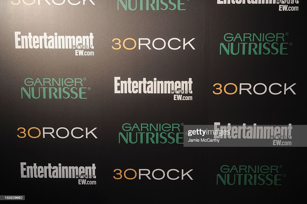 General view of the atmosphere at Entertainment Weekly and NBC's celebration of the final season of 30 Rock sponsored by Garnier Nutrisse on October 3, 2012 in New York City.