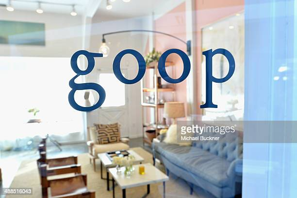 A general view of the atmosphere at Goop PopUp Shop on May 6 2014 in Los Angeles California