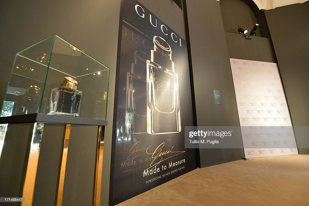 A general view of the atmosphere at 'Gucci Made to Measure Launch' on June 24, 2013 in Milan, Italy.