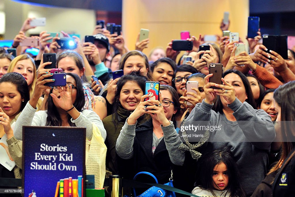 A general view of the atmosphere at Khloe Kardashian Book Signing For 'Strong Looks Better Naked' at Barnes & Noble on November 13, 2015 in San Diego, California.