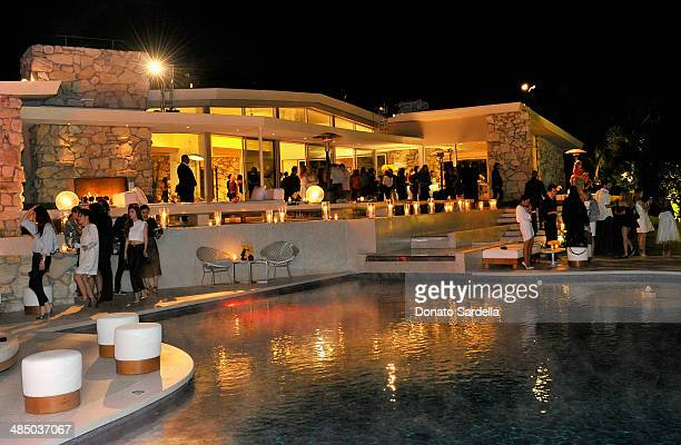 A general view of the atmosphere at Launch Of CHOO08 hosted by Jimmy Choo's Sandra Choi on April 15 2014 in Beverly Hills California