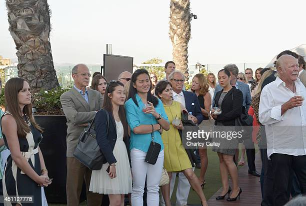 A general view of the atmosphere at Longines Los Angeles Masters Cocktail Reception at The London Hotel on June 23 2014 in West Hollywood California