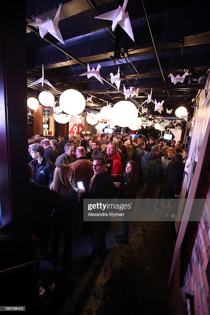 A general view of the atmosphere at Night 1 of ChefDance on January 18, 2013 in Park City, Utah.