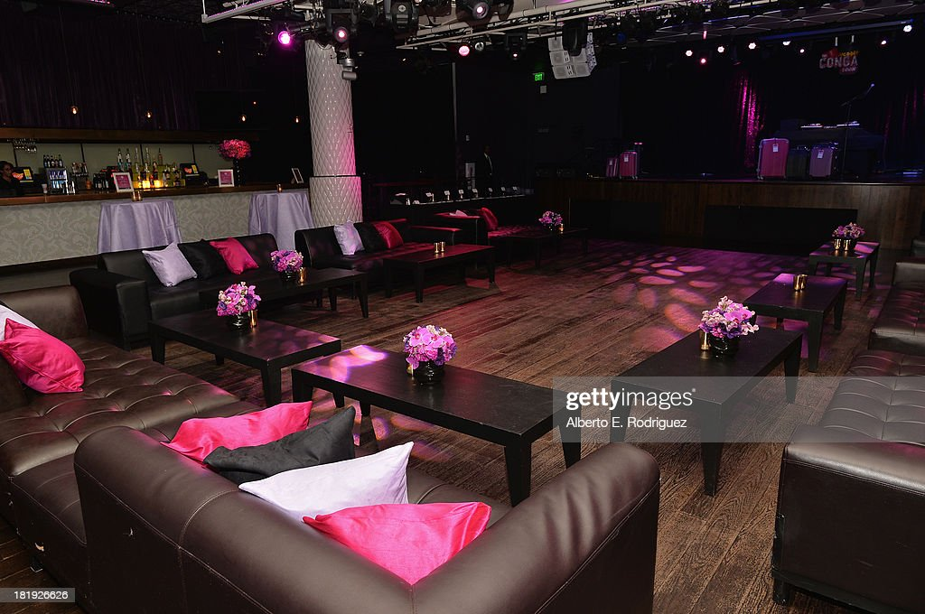 A general view of the atmosphere at party for the premiere of Fox Searchlight Pictures' 'Baggage Claim' at the Conga Room on September 25, 2013 in Los Angeles, California.