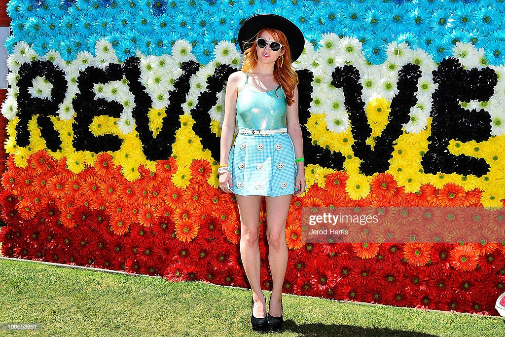 A general view of the atmosphere at REVOLVEclothing's VIP Festival Event - Day 2 at The Saguaro Palm Springs on April 14, 2013 in Palm Springs, California.