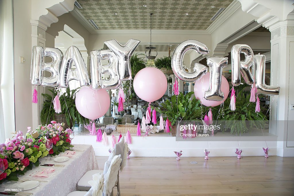 general view of the atmosphere at tamera mowry housley 39 s baby shower