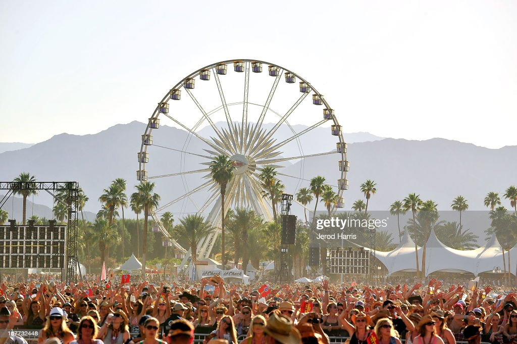 A general view of the atmosphere at the 2013 Stagecoach Country Music Festival at The Empire Polo Club on April 28, 2013 in Indio, California.