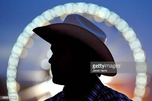 A general view of the atmosphere at the 2014 Stagecoach Country Music Festival at The Empire Polo Club on April 25 2014 in Indio California