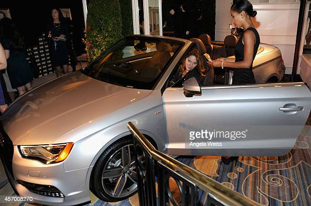 A general view of the atmosphere at the 2014 Variety Power of Women presented by Lifetime at Beverly Wilshire Four Seasons Hotel on October 10 2014...