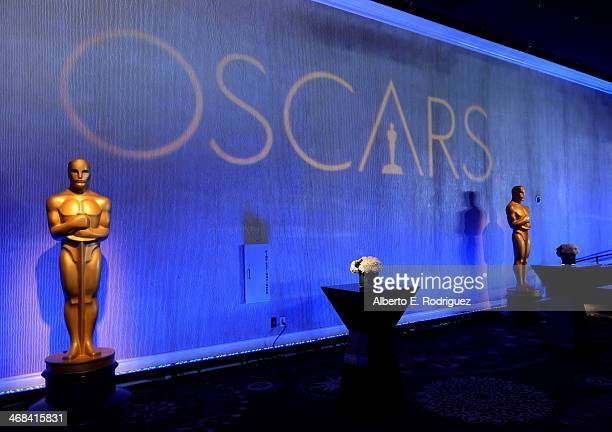 General view of the atmosphere at the 86th Academy Awards nominee luncheon at The Beverly Hilton Hotel on February 10 2014 in Beverly Hills California