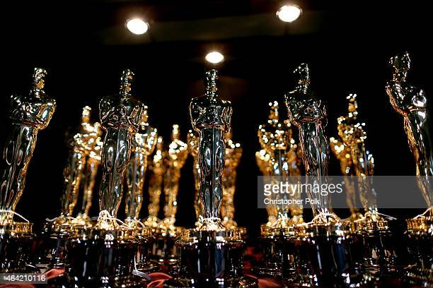 A general view of the atmosphere at the 87th Annual Academy Awards at Dolby Theatre on February 22 2015 in Hollywood California