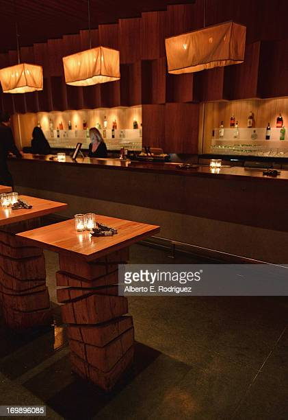 A general view of the atmosphere at the after party for Columbia Pictures' 'This Is The End' premiere at W Hotel Westwood on June 3 2013 in Westwood...