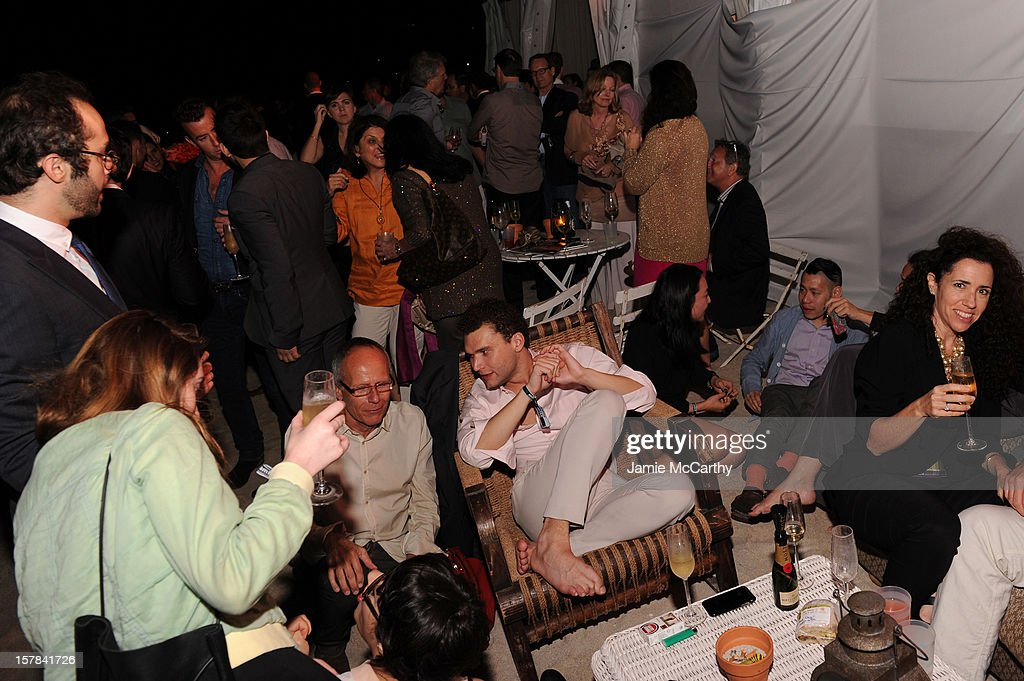 A general view of the atmosphere at the amfAR Inspiration Miami Beach Party at Soho Beach House on December 6, 2012 in Miami Beach, Florida.
