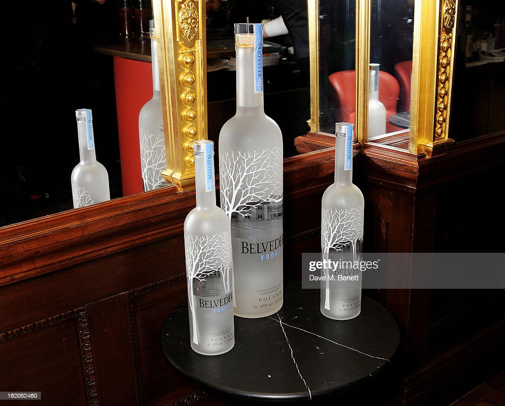A general view of the atmosphere at the AnOther Magazine and Dazed & Confused party with Belvedere Vodka at the Cafe Royal hotel on February 18, 2013 in London, England.