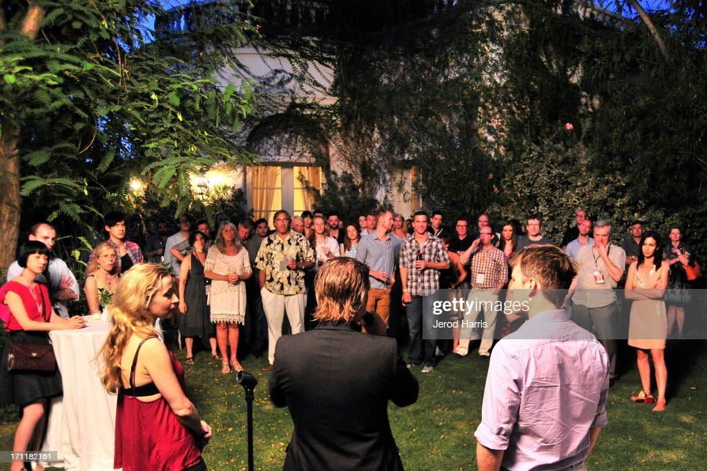 A general view of the atmosphere at the Australian Reception at Parker Palm Springs on June 22, 2013 in Palm Springs, California.