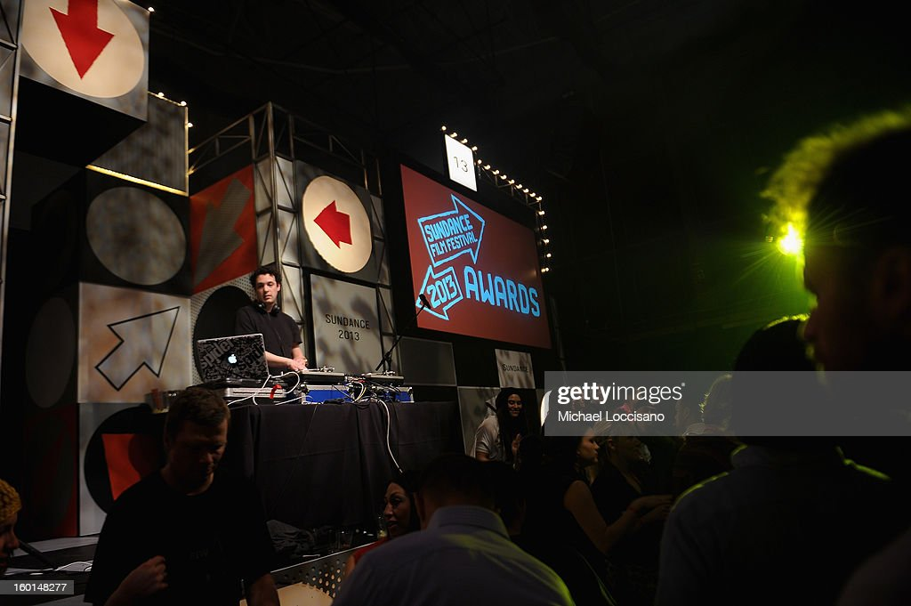A general view of the atmosphere at the Awards Night Party during the 2013 Sundance Film Festival at Basin Recreation Field House on January 26, 2013 in Park City, Utah.