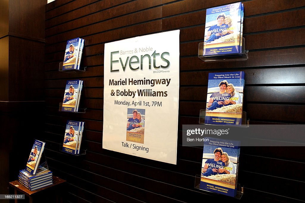 A general view of the atmosphere at the book signing for 'The Willing Way' at Barnes & Noble bookstore at The Grove on April 1, 2013 in Los Angeles, California.
