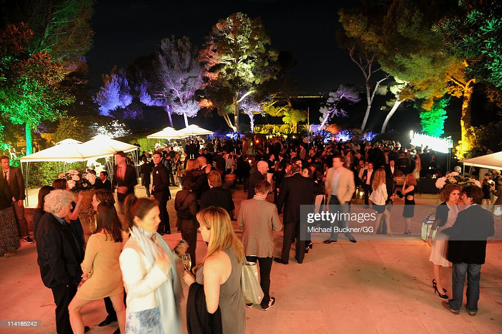 General view of the atmosphere at the CAA Party with Grey Goose at Soho House Cannes in celebration of the 64th Annual Cannes Film Festival at Villa Eilenroc on May 14, 2011 in Cannes, France.