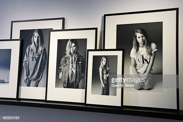 A general view of the atmosphere at the Calvin Klein Jeans x Mytheresacom party on July 17 2014 in London England
