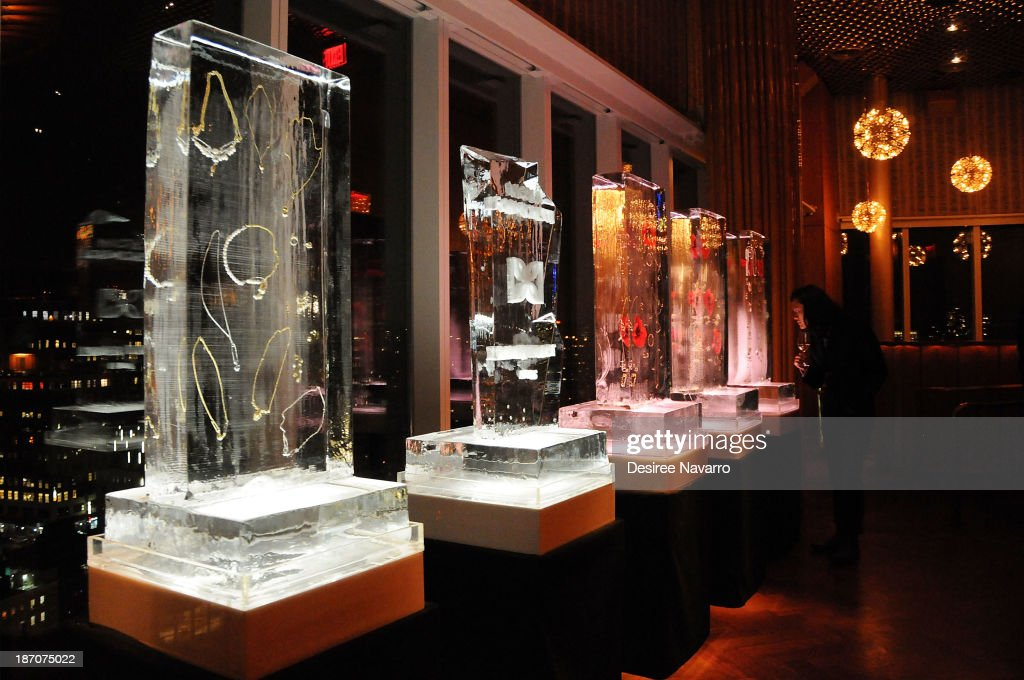 A general view of the atmosphere at the Didier Dubot Jewelry Launch at The Standard on November 5, 2013 in New York City.