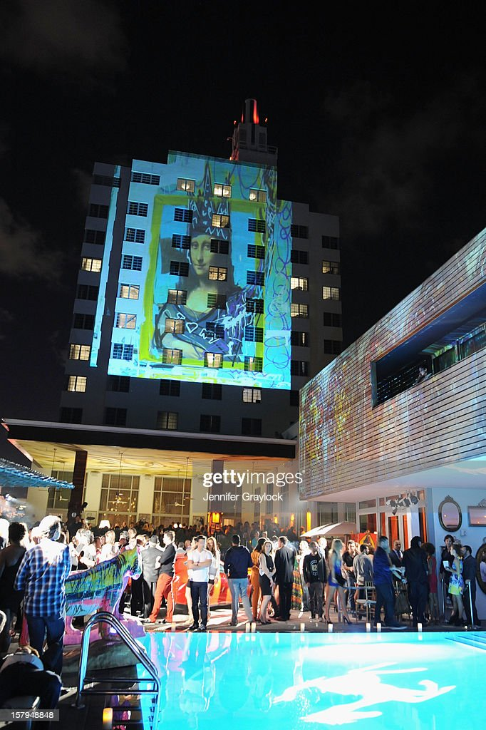 A general view of the atmosphere at the Domingo Zapata Installation at The W hosted by Haute Living and Hublot at SLS South Beach on December 7, 2012 in Miami, United States.