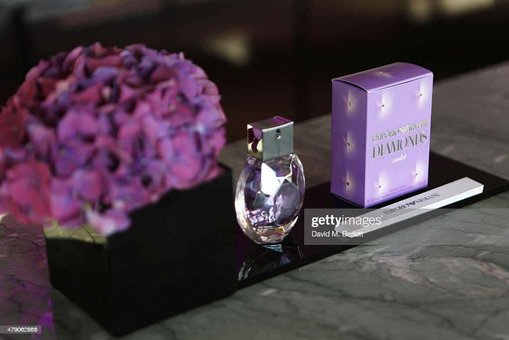 A general view of the atmosphere at the Emporio Armani Diamonds Fragrance launch at The Ace Hotel on June 30 2015 in London England