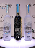 A general view of the atmosphere at the exclusive screening of Spectre hosted by Belvedere Vodka and Aston Martin at The Curzon Mayfair on October 27...