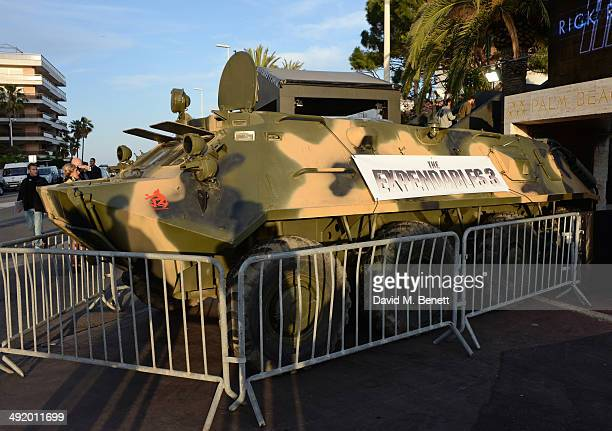 A general view of the atmosphere at 'The Expendables 3' private dinner and party at Gotha Night Club at Palm Beach on May 18 2014 in Cannes France