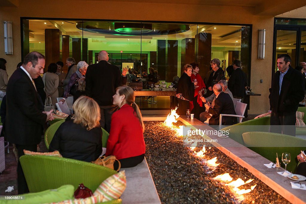 A general view of the atmosphere at the Israeli reception at the Palm Springs International Film Festival on January 6, 2013 in Palm Springs, California.
