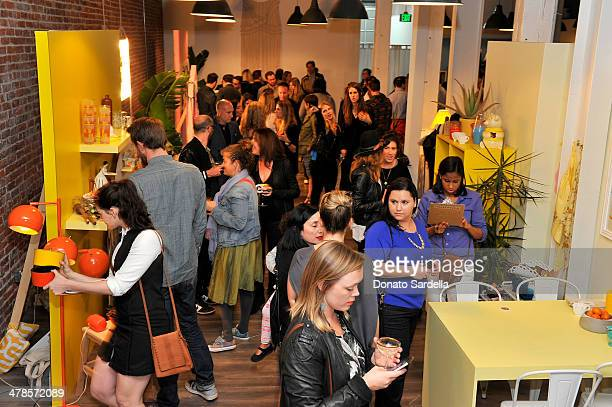 A general view of the atmosphere at the launch of Hunters Alley at The Unique Space on March 13 2014 in Los Angeles California