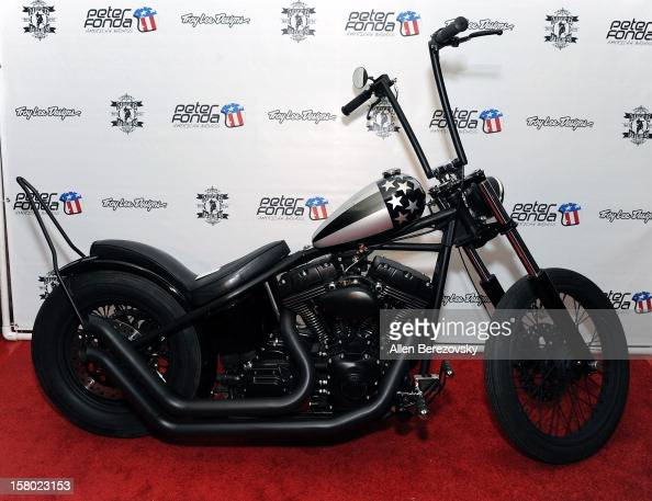 A general view of the atmosphere at the launch of Peter Fonda's new men's fashion line and protective riding gear collection for Troy Lee Designs at...