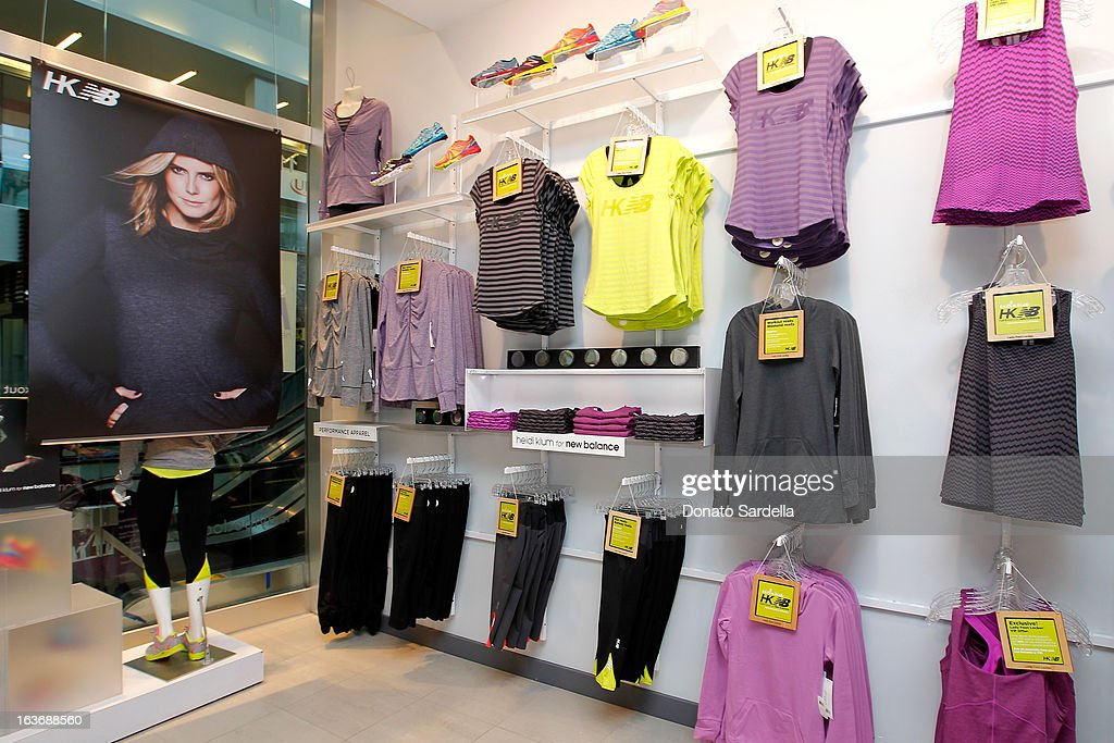 A general view of the atmosphere at the launch of the new Heidi Klum for New Balance Collection at Lady Foot Locker on March 14, 2013 in Culver City, California.